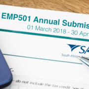 EMP501 Annual Submission