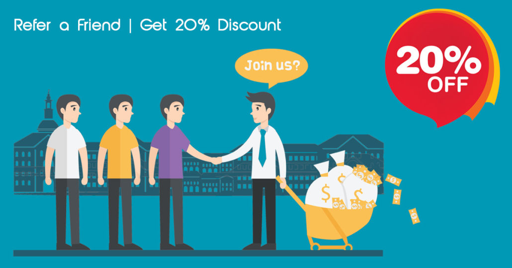 Refer a Friend and Get 20% Off Your Tax Returns